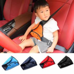 Universal Car Safe Seat Belt Cover Soft Adjustable Triangle Safety Seat Belt Pad Clips Protection for Baby Child Belts
