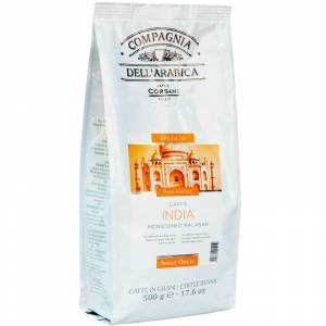 Dell Coffee beans Compagnia dell'arabica India Monsooned Malabar 500g.