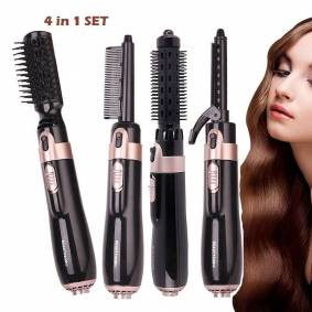 hot air brush hair dryer Electric brush curly straight hair dryer hot comb Multifunctional hair styling tool for women SU405