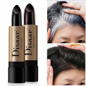 One-Time Hair dye Instant Gray Root Coverage Hair Color Modify Cream Stick Temporary Cover Up White Hair Colour Dye 10g