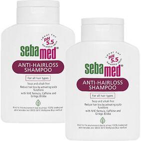 Sebamed Anti Hair Loss Shampoo 400ml x 2 Piece Extract Treatment Essence Soften Darkening Unisex