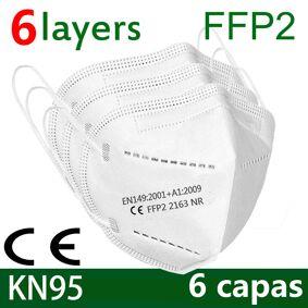 KN95 mask Face FFP2 mask Mouth Maske Safety Masks soft 95% Filtration maske dust Fast Shipping Soft breathable fp2 mask