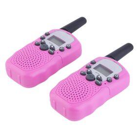 2x RT-388 Walkie Talkie 0.5 W 22CH Twee Manier Radio Voor Kinderen Kinderen Gift