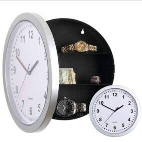 Creative Wall Clock Safe Box Creative Hidden Secret Storage Box for Cash Money Jewelry Storage Home Office Security Safes