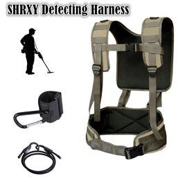 Metal Detector Generic Detecting Harness Sling for All Metal Detectors Pro-Swing 45 Same Model Support Garrett Bounty Hunter GPX