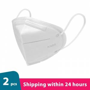 2 pieces 5 colors KN95 Face Mask Protective Masks Facial Mouth FaceMasks Dustproof Safety quivalent to FFP2 close to FFP3