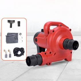 1200W Industrial Grade Dust Collector Blower Blowing And Suction Vacuum Cleaner For Electric Cutting Slotting Milling Machine