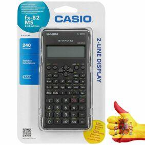 Casio Calculator FX-82MS2 Middle School's student chemistry math SAT/AP exam scientific calculator children Science