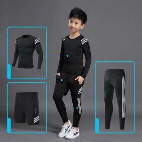 Kids Sports Running Set 2020 Sportswear Men Sport Suit Basketball Jogging Clothes Tights Gym Training Football Training Clothes