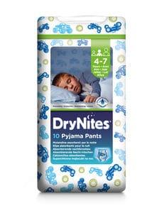 DryNites Bleie gutt 4-7 år 10 stk   Bleier