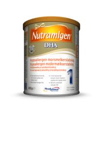 Nutramigen 1 DHA hypoallergen spesialnæring, 400 g   Morsmelkserstatning