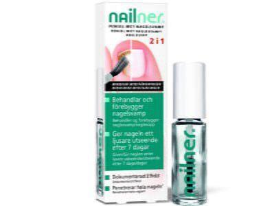 Nailner pensel 2 i1 mot neglesopp 5ml   Håndplager