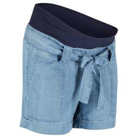 bonprix Mammashorts av lin, i jeans-look 34,36,38,40,42,44,46,48,50,52