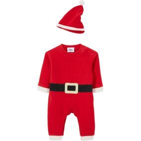 bonprix Baby-overall + lue til jul (2-delt sett) 92/98,104/110