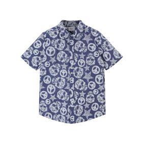 bonprix Kortermet skjorte til gutt, Regular Fit 164/170,152/158,140/146,128/134,116/122