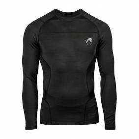 Venum G-Fit Rashguard - Long Sleeves - Black Small
