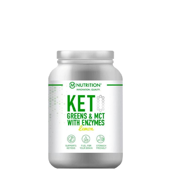 M-Nutrition Keto Greens & MCT, 600 g, Lemon