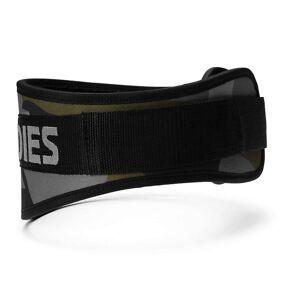 Better Bodies Gear Camo Gym Belt, Dark Green Camo X-large