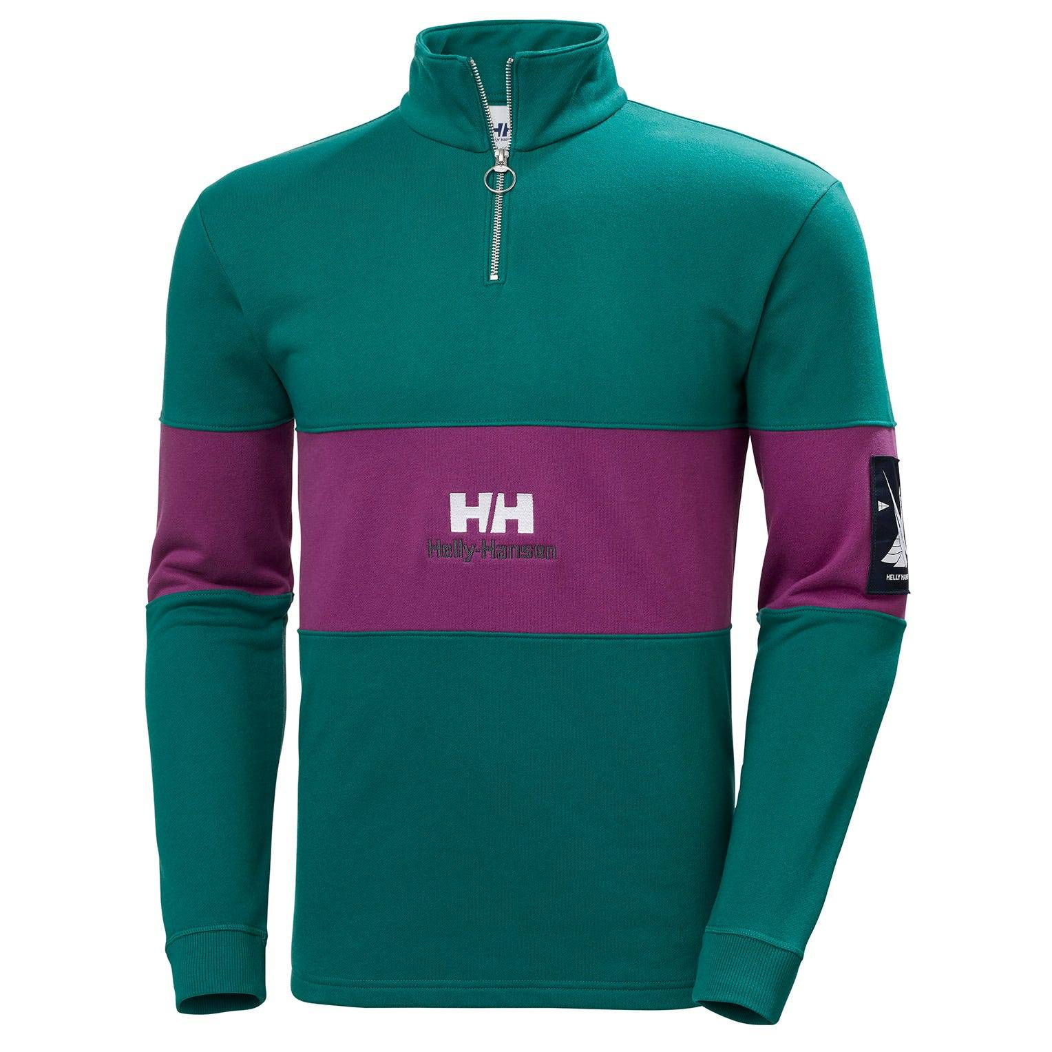 Helly Hansen Yu20 1/2 Zip Sweater Grønn M