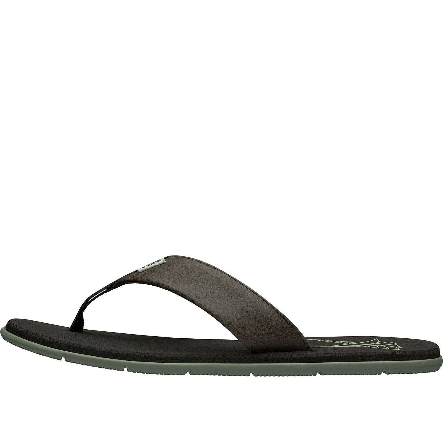 Helly Hansen Herre Seasand Leather Sandal Sko brun 11.5