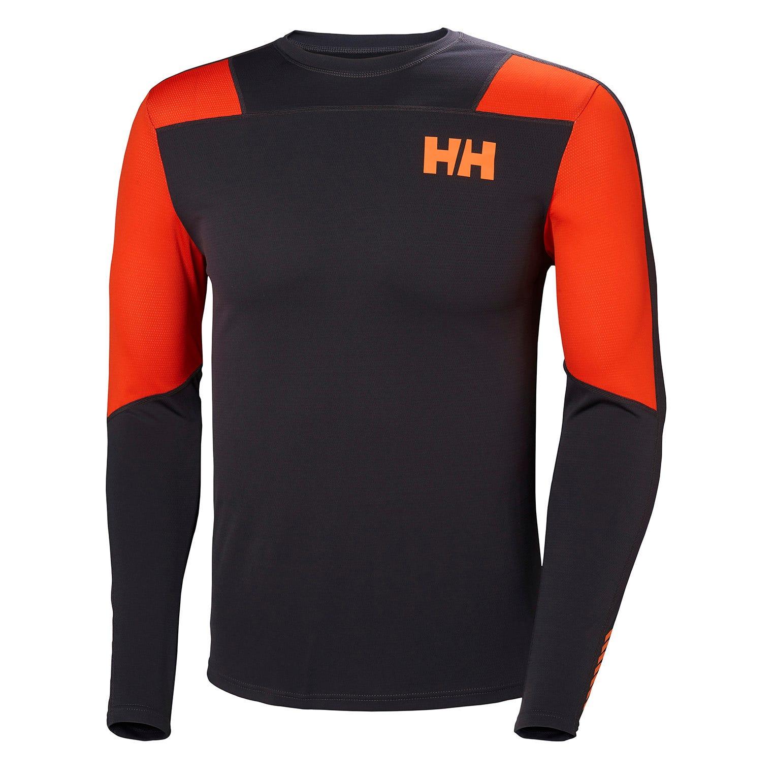 Helly Hansen Mens Lifa Active Light Long Sleeve Baselayer Black XXL