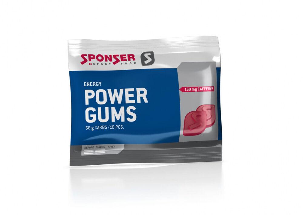 Sponser Energy Power Gums Fruktsmak DATO