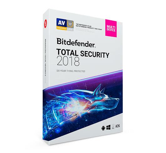 Bitdefender Total Security Multi-Device 2019 - 3 enheter