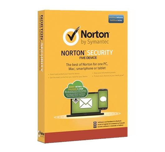 Symantec Norton Security Deluxe 2019 - 5 enheter