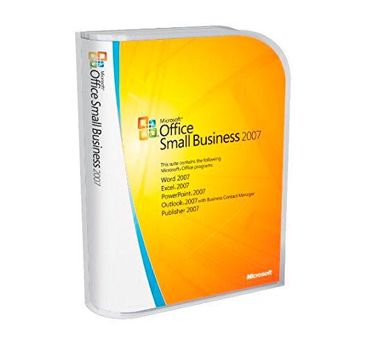 Microsoft Office Small Business 2007 - (Windows)