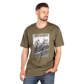 Alpinestars T-Skjorte Alpinestars Reminisce Militær Grønn