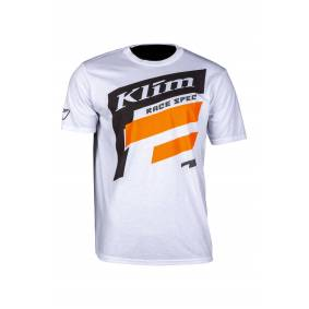 KLIM T-Skjorte Klim Race Spec Hvit-Oransje
