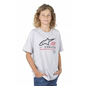 Alpinestars T-Skjorte Alpinestars Strat Barn Sølv