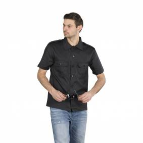 Brandit Skjorte Brandit US Hemd 1/2 - Svart