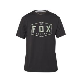 FOX T-Skjorte Fox Crest Svart-Grønn