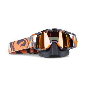 Dragon Crossbriller Dragon Vendetta Flair Snowmobile Goggles Orange