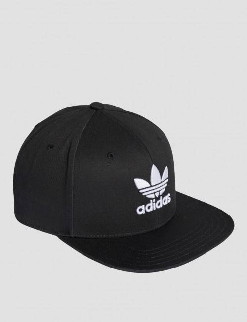 Adidas Originals, SB CLASSIC TRE, Svart, Kapser og skyggeluer för Unisex, One size One size Svart
