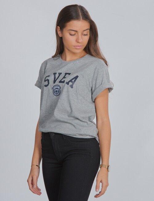 Svea, Chicago Jr Tee, Grå, T-shirt/Singlet för Jente, 160 cm 160 cm Grå