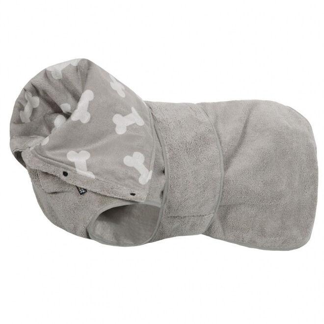 Rukka Soft badekåpe grå (L)