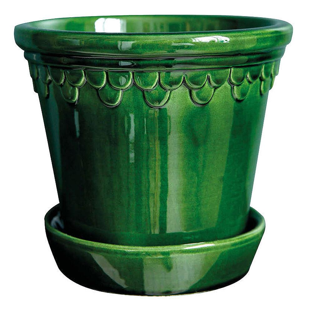 Bergs Potter Köpenhavner Krukke/skål 14 cm Grønn