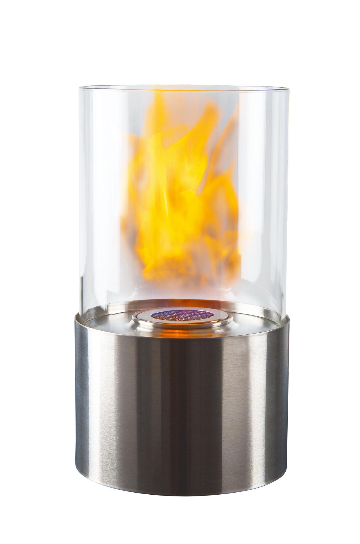 Dorre Lykt Bioetanol rund 28 cm Rustfri