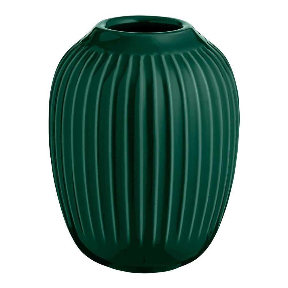 Kähler Design Hammershöi Vase 10 cm Grønn