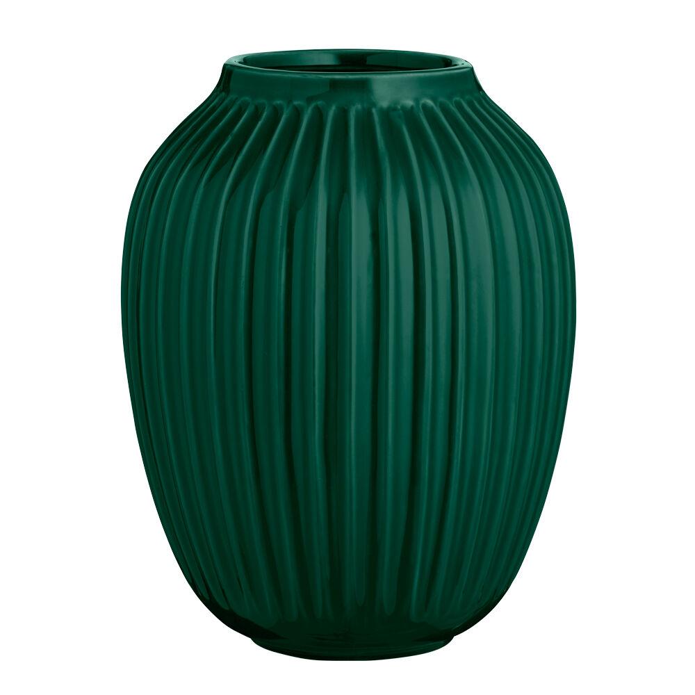 Kähler Design Hammershöi Vase 25 cm Grønn
