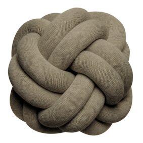 Design House Knot Pute 30 cm Khaki