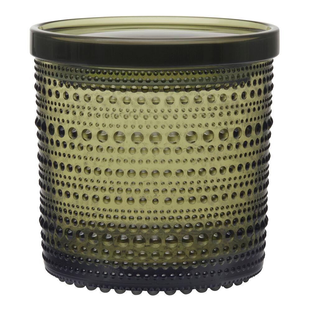 iittala Kastehelmi Boks/lokk 11x11,4 cm Mosegrønn