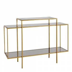 Holmen Winton Bord Metall/Glass 120x40 cm