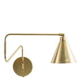 House Doctor Game Vegglampe 70 cm Messing