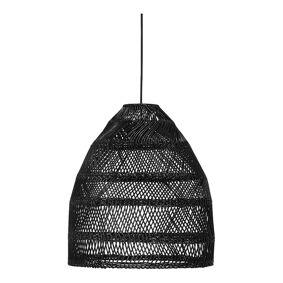 PR Home Maja Taklampe Wicker 36,5 cm Sort
