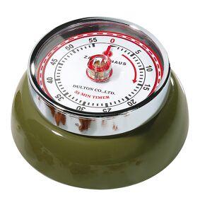 Zassenhaus Retro Collection Timer med magnet Olivengrønn