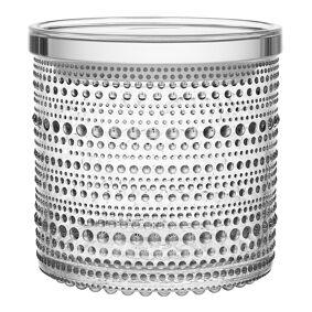 iittala Kastehelmi Boks med lokk 11x11,4 cm Klar