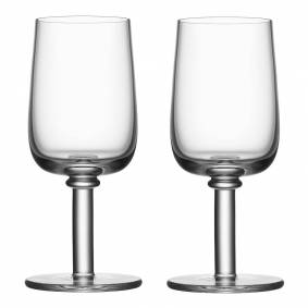 Kosta Boda Viva Glass med stett 25 cl 2-pakning